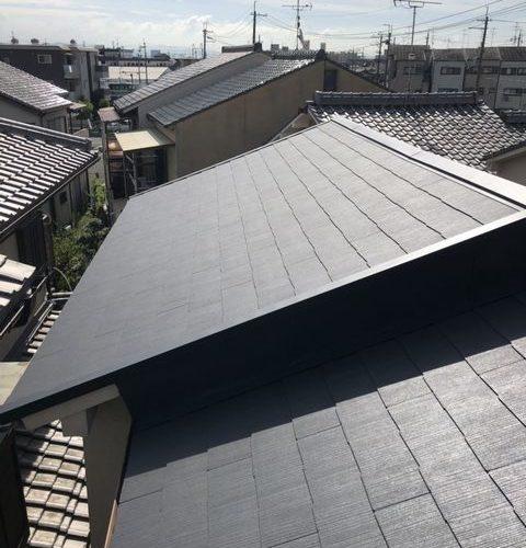 京都市西京区にて屋根修理 ~完工~