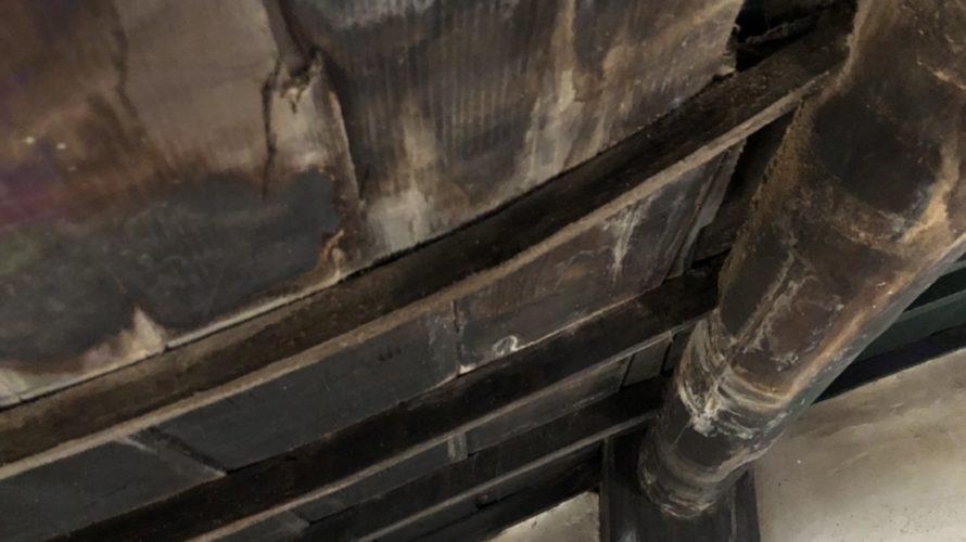 京都市上京区にて屋根修理