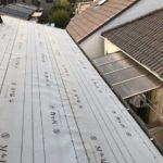京都市伏見区にて屋根修理 ~野地板・ルーフィング張り~